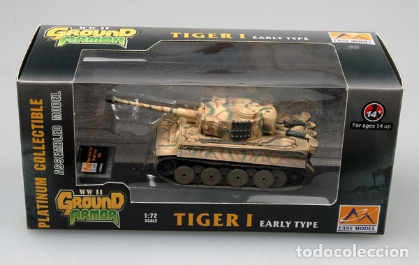 Hobbys: Maqueta diecast - Easy Model EM36209 Tiger 1 (Early)-SS LAH Kursk 1943 1/72 - Foto 2 - 175337813