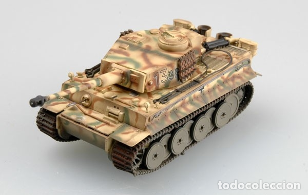Hobbys: Maqueta diecast - Easy Model EM36209 Tiger 1 (Early)-SS LAH Kursk 1943 1/72 - Foto 3 - 175337813