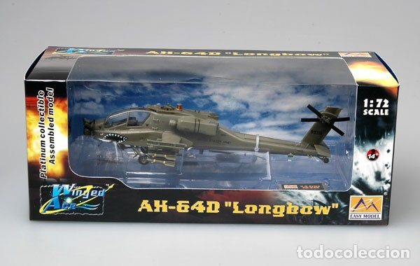 MAQUETA DIECAST - EASY MODEL EM37031 US ARMY AH-64D APACHE 1/72 (Juguetes - Modelismo y Radiocontrol - Diecast)