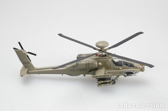 Hobbys: Maqueta diecast - Easy Model EM37031 US Army AH-64D Apache 1/72 - Foto 2 - 175338862