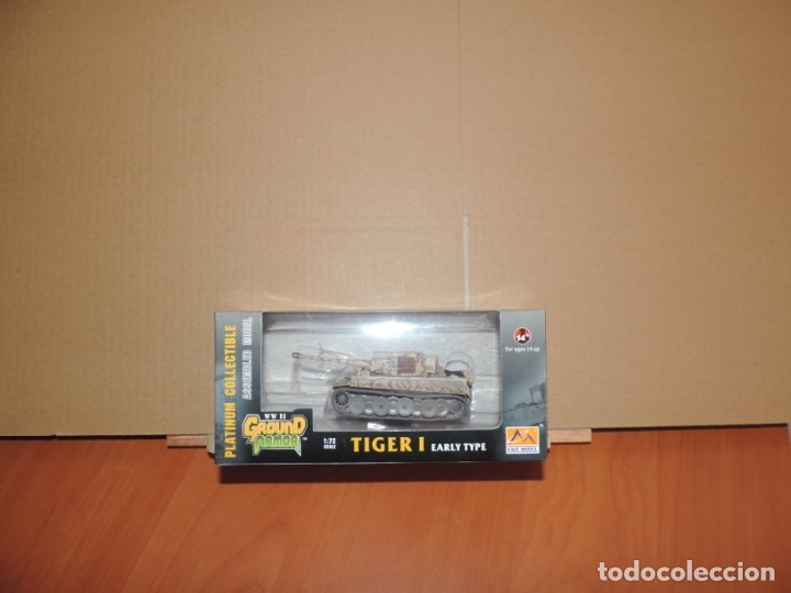 Hobbys: Maqueta diecast - Easy Model EM36209 Tiger 1 (Early)-SS LAH Kursk 1943 1/72 - Foto 1 - 175337813