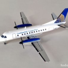 Hobbys: HERPA WINGS 1:200 • SAAB 340 B CONTINENTAL AIRLINES CONNECTION (N356CJ) • METÁLICO 1/200. Lote 177126327