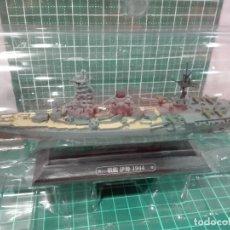 Hobbys: ACORAZADO ISE 1944 - ARMADA JAPONESA EAGLEMOSS 1/1100 DIECAST. Lote 215658075