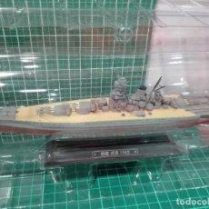 Hobbys: ACORAZADO MUSASHI 1942 - ARMADA JAPONESA HERMANO DEL YAMATO EAGLEMOSS 1/1100 DIECAST. Lote 180846213