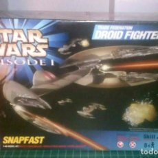 Hobbys: TRADE FEDERATION DROID FIGHTERS DIECAST 1/48 AMT/ERTL ORIGINAL SEALD, LAST WEEK ULTIMA SEMANA. Lote 186363998