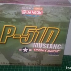 Hobbys: DRAGON WINGS WARBIRDS 1/72 SERIES P-51D MUSTANG SHARKS MOUTH, 12TH FS, 18TH FG. Lote 186365056