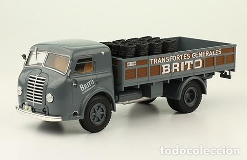 CAMIÓN PEGASO ENASA HISPANO 66G - TRANSPORTES BRITO, 1947 - SALVAT 1/43 (Juguetes - Modelismo y Radiocontrol - Diecast)