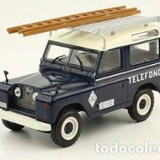 Hobbys: VEHÍCULOS DE REPARTO Y SERVICIO TELEFÓNICA LAND ROVER SANTANA 88 (1989) TELEFÓNICA 1/43 SALVAT. Lote 192987750