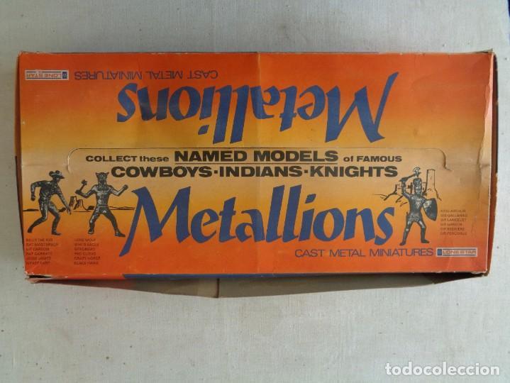 Hobbys: METALLIONS. COWBOYS-INDIANS-KNIGHES.36 FIGURAS - Foto 2 - 193450870
