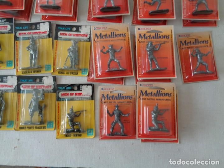 Hobbys: METALLIONS. COWBOYS-INDIANS-KNIGHES.36 FIGURAS - Foto 10 - 193450870