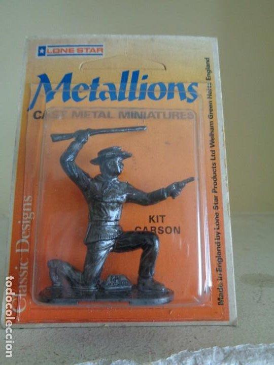 Hobbys: METALLIONS. COWBOYS-INDIANS-KNIGHES.36 FIGURAS - Foto 14 - 193450870