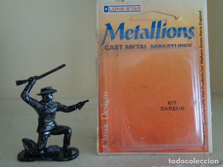 Hobbys: METALLIONS. COWBOYS-INDIANS-KNIGHES.36 FIGURAS - Foto 16 - 193450870