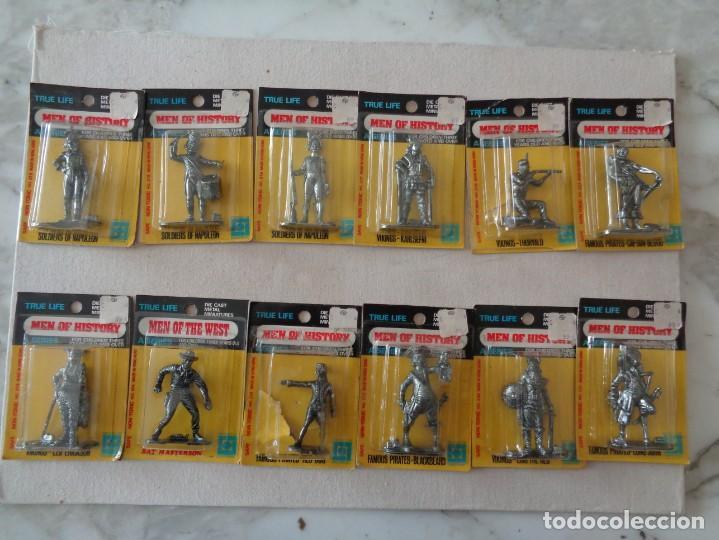 Hobbys: METALLIONS. COWBOYS-INDIANS-KNIGHES.36 FIGURAS - Foto 18 - 193450870