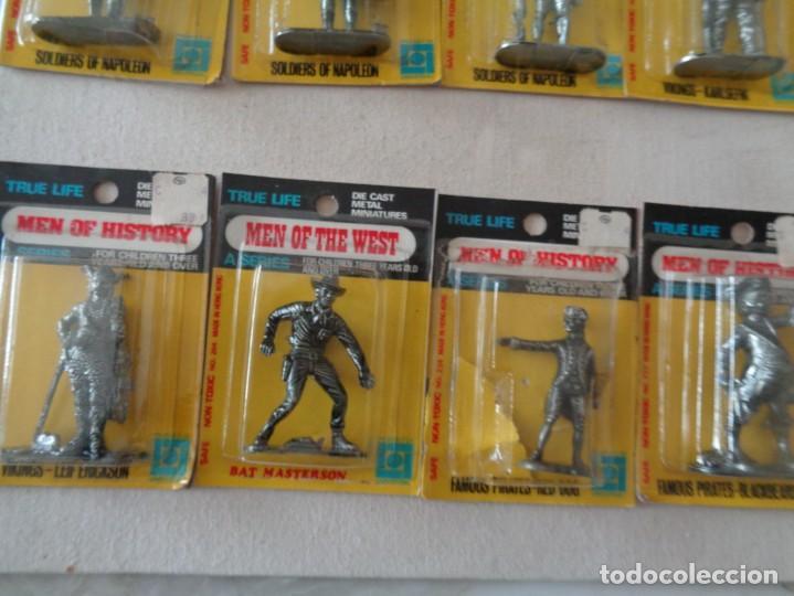 Hobbys: METALLIONS. COWBOYS-INDIANS-KNIGHES.36 FIGURAS - Foto 23 - 193450870