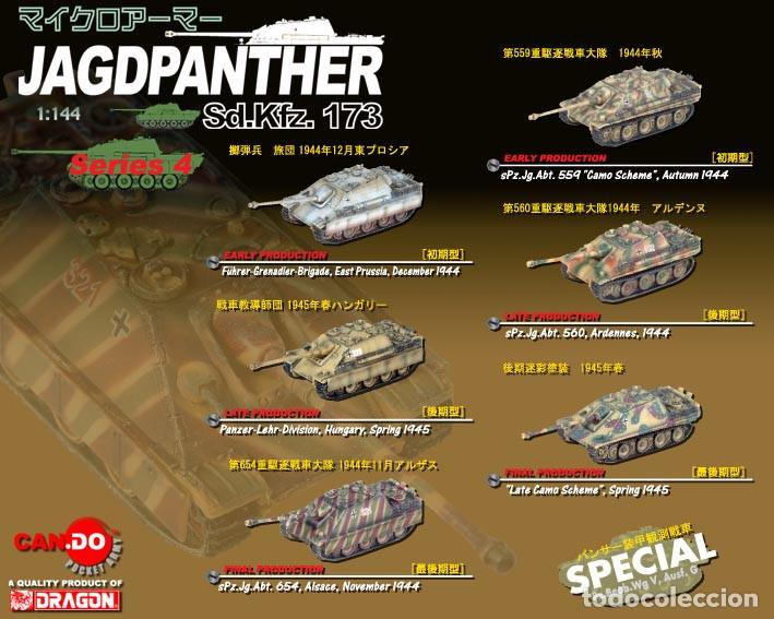 Hobbys: JAGDPANTHER Sd.Kfz.560 ARDENNES 1944 Can.Do 1/144 - Foto 2 - 222277355
