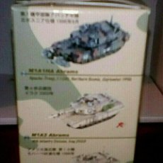 Hobbys: LOW COST 1/144 CAN.DO M1A1/A2 ABRAMS 4TH.INFANTRY DIVISION, IRAQ 2003. Lote 196311931