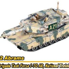 Hobbys: 1/144 CAN.DO M1A2 ABRAMS 194TH, BRIGADE TASK FORCE 1-70 AR, NATIONAL TRAINING. Lote 196312428