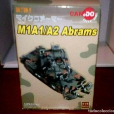 Hobbys: 1/144 CAN.DO M1A1HA ABRAMS APACHE-TROOP, 1-1CAV, NORTHERN BOSNIA, SEPTEMBER 1996. Lote 196312571
