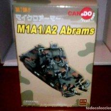Hobbys: 1/144 CAN.DO M1A1HA ABRAMS APACHE-TROOP, 1-1CAV, NORTHERN BOSNIA, SEPTEMBER 1996. Lote 196312571