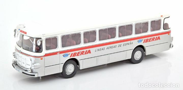 AUTOBÚS PEGASO 5061 - SEIDA - IBERIA (1963) SALVAT 1/43 (Juguetes - Modelismo y Radiocontrol - Diecast)