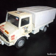 Hobbys: CAMION MERCEDES UNIMOG, RALLYE TEAM ITALIA - 1/50 - SOLIDO DIECAST METAL-. Lote 204388358
