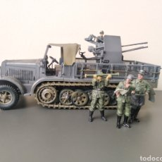 Hobbys: FORCES OF VALOR 1:32 GERMAN SDKFZ 7/1 MIT 2CM FLAKVIERLING 38. Lote 203566796
