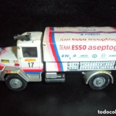 Hobbys: CAMION IVECO TRANSAFRICA EQUIPO ESSO 1980 - 1/50 - SOLIDO DIECAST METAL-. Lote 204675578