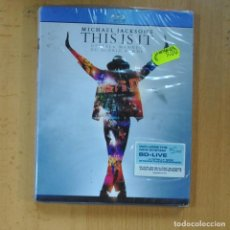 Hobbys: MICHAEL JACKSON´S - THIS IS IT - BLU RAY. Lote 218388671