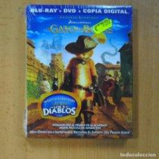 Hobbys: EL GATO CON BOTAS - BLU RAY. Lote 218389311