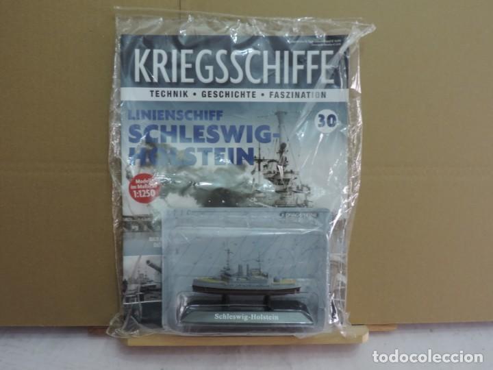 DEAGOSTINI ACORAZADO SCHLESWIG-HOLSTEIN 1939 1/1250 (Juguetes - Modelismo y Radiocontrol - Diecast)