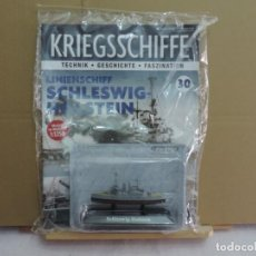 Hobbys: DEAGOSTINI ACORAZADO SCHLESWIG-HOLSTEIN 1939 1/1250. Lote 226263612