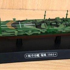 Hobbys: MAQUETA PORTAAVIONES JAPONES ZUIHO, 1944. ESCALA 1:1100. EAGLEMOSS. Lote 234311730