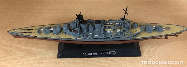 Hobbys: MAQUETA ACORAZADO JAPONES 1940. ESCALA 1:1100 - Foto 2 - 234312240