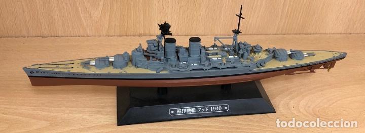 Hobbys: MAQUETA ACORAZADO JAPONES 1940. ESCALA 1:1100 - Foto 3 - 234312240