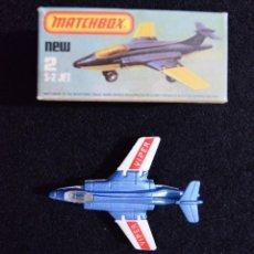 Hobbys: MATCHBOX LESNEY NRO.2 S-2 JET 1981 ENGLAND DIECAST. Lote 238706890
