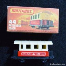 Hobbys: MATCHBOX LESNEY NRO.44 PASSENGER COACH 1978 ENGLAND DIECAST. Lote 238707170