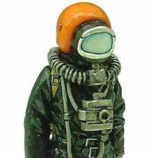 Hobbys: FIGURA DE COLECCIONISTA: BOMBERO DEL GREP, PARIS 1978. ESCALA 1:30, PLOMO/ESTAÑO. A ESTRENAR. Lote 244875600