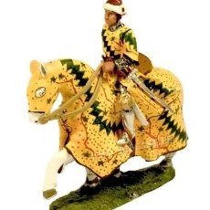 Hobbys: FIGURA EN ALEACIÓN PLOMO : CONDOTIERO ITALIANO GUIDORICCIO DA FOGLIANO, 1330, 1:30 . A ESTRENAR.. Lote 244897950