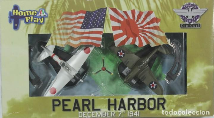 AVIONES PEARL HARBOR, 7 DE DICIEMBRE DE 1941, P-40 - ZERO, REF. 41500, 1/100, ITALERI (Juguetes - Modelismo y Radiocontrol - Diecast)