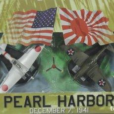 Hobbys: AVIONES PEARL HARBOR, 7 DE DICIEMBRE DE 1941, P-40 - ZERO, REF. 41500, 1/100, ITALERI. Lote 247446620