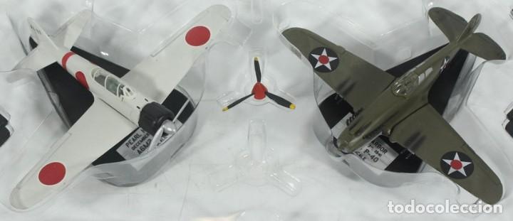 Hobbys: Aviones Pearl Harbor, 7 de Diciembre de 1941, P-40 - Zero, ref. 41500, 1/100, Italeri - Foto 2 - 247446620