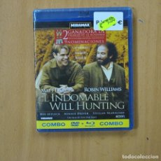 Hobbys: EL INDOMABLE WILL HUNTING - DVD + BLURAY. Lote 252010960