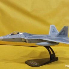 Hobbys: F-22A RAPTOR U.S.A.. DIECAST METAL AVION A ESCALA 1:100. ITALERI. NUEVO EN SU EMBALAJE ORIGINAL.. Lote 256031535