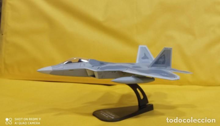 F-22A RAPTOR U.S.A.. DIECAST METAL AVION A ESCALA 1:100. ITALERI. NUEVO EN SU EMBALAJE ORIGINAL. (Juguetes - Modelismo y Radiocontrol - Diecast)