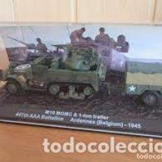 Hobbys: ALTAYA - M16 MGMC & 1-TOM TRAILER 447 AAA BATALLON ARDENAS 1944 1/43. Lote 260325215