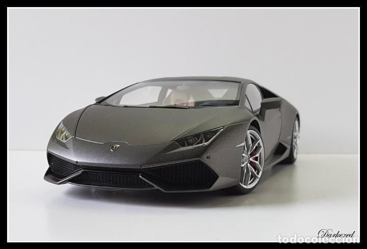 Hobbys: Lamborghini Huracan. 1/18 Autoart 74606. Matt Titan Grey. New. Huracán LP 610-4. - Foto 2 - 262347605