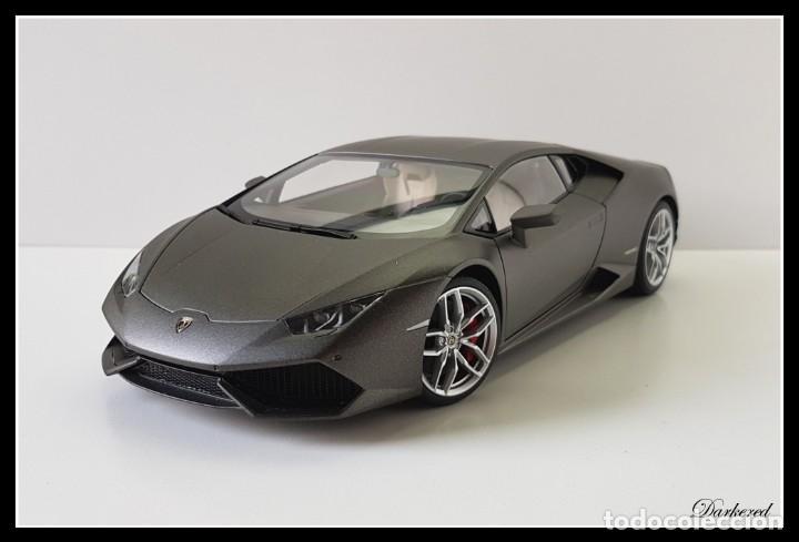 Hobbys: Lamborghini Huracan. 1/18 Autoart 74606. Matt Titan Grey. New. Huracán LP 610-4. - Foto 3 - 262347605