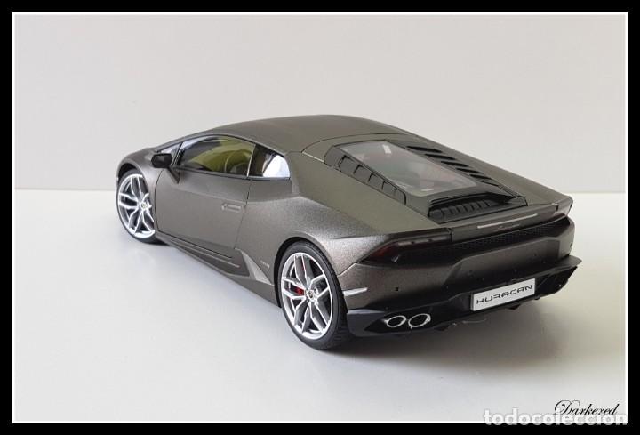 Hobbys: Lamborghini Huracan. 1/18 Autoart 74606. Matt Titan Grey. New. Huracán LP 610-4. - Foto 5 - 262347605