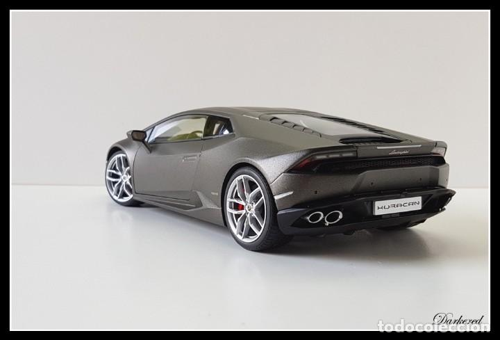 Hobbys: Lamborghini Huracan. 1/18 Autoart 74606. Matt Titan Grey. New. Huracán LP 610-4. - Foto 7 - 262347605