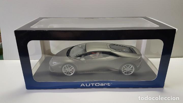 Hobbys: Lamborghini Huracan. 1/18 Autoart 74606. Matt Titan Grey. New. Huracán LP 610-4. - Foto 12 - 262347605
